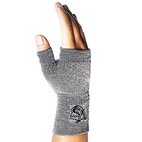Vital Salveo-Compression Recovery Wrist and Thumb Support, For Arthritis, Joint Pain, Tendonitis, Fatigue, Carpal Tunnel Syndrome, Sprains, Hand Instability, and Wrist Pain(1PC)-Small