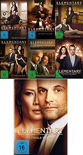 Elementary - Die kompletten Staffeln 1+2+3+4+5+6+7 (Komplette Serie) im Set - Deutsche Originalware [39 DVDs]