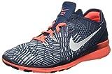 Nike Sportswear Top, Zapatillas de Gimnasia para Mujer, Azul (Sqdrn Bl/White-Brght MNG-Bl Gr), 37 1/2 EU