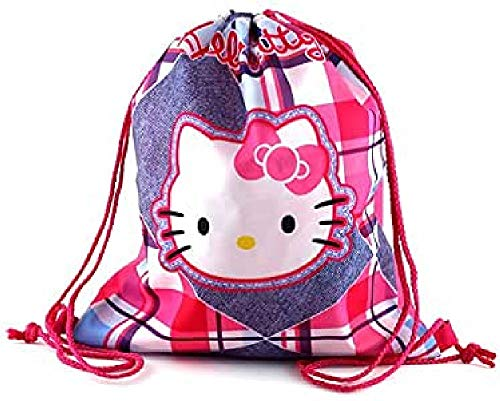 Hello Kitty Housse Chaussure Multicolore (Rose/Bleu Clair)