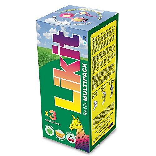 Likit Leckstein-Multipack, 3er-Pack (Einheitsgröße) (Sortiert)