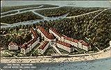 Aerial View of The Hotel Breakers, Lake Erie Cedar Point, Ohio OH Original Vintage Postcard