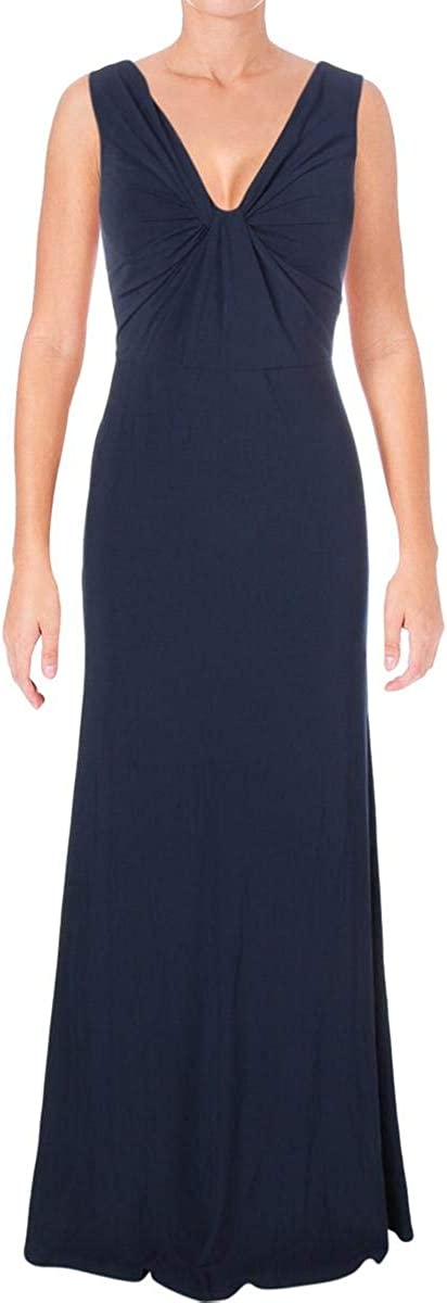 Vera Wang Special sale item Women's Sleeveless Front Twist Sale price Gown