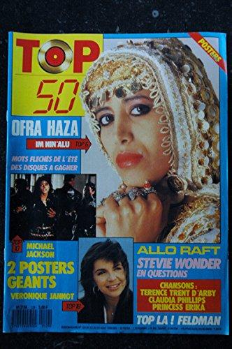TOP 50 129 1988 OFRA HAZA MICHAEL JACKSON VERONIQUE JANNOT RAFT STEVIE WONDER