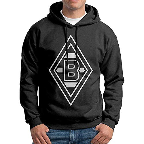 NR Men Borussia MÖNchengladbach Logo Custom Causal 100% Cotton Hoodie