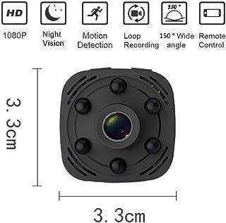 POWER BANKS Mini cámara WiFi HD 1080P Mini cámara espía Oculta inalámbrica de visión Nocturna/cámara de Seguridad de grabación de Pantalla activada por Movimiento (con aplicación de teléfono Celular)
