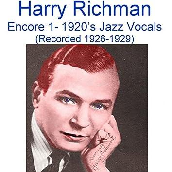 Encore 1 (1920's Jazz Vocals) [Recorded 1926-1929]