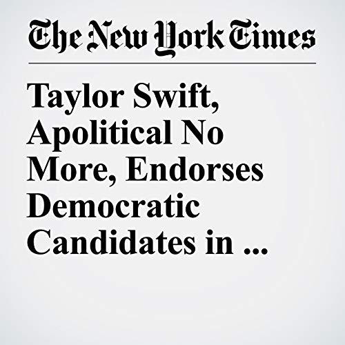 Taylor Swift, Apolitical No More, Endorses Democratic Candidates in Tennessee copertina