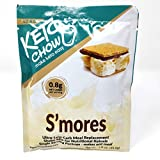 Keto Chow Limited Edition Flavor | Keto Meal Replacement Shake | Nutritionally Complete | Low Carb | Delicious Easy Meal Substitute | You Choose The Fat | Smores
