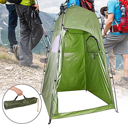 Elikliv Portable Pop Up Tent, Outdoor Privacy Shower Toilet Tents, Camping Beach Shelter Tents for Changing Dressing Fishing Bathing Storage Room