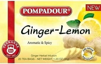 ポンパドール ジンジャー&レモン 20袋入