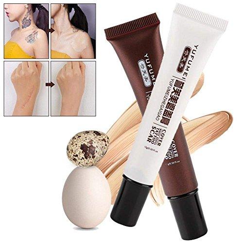 Tattoo Cover, Narbe Tattoo Concealer Vitiligo Verstecke Birthmarks Make-up Abdeckung Creme Set