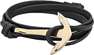Best leather and gold bracelet Reviews