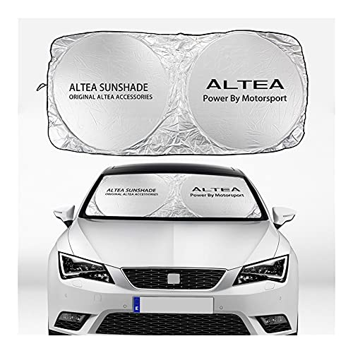 XinYuan Cubierta de Sombreros de Parabrisas Cubierta Compatible con Seat Alhambra Altea Arona Arosa ATECA Cordoba EXEO Ibiza Leon TARRACO Toledo Auto Accesorios (Color : For Altea)