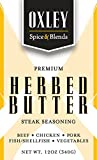Oxley Spice & Blends Pasture Fed Herb Butter Steak Seasoning, Himalayan Salt for Steaks, Burgers,...