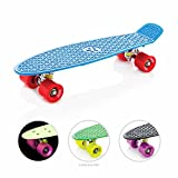 Eightbit 22 Inch Complete Skate Board - Retro Skateboard - Nova/Fury