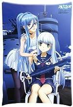 CSD Pillow case Anime Aoki Hagane no Arpeggio Ars Nova Funda de Almohada de Lado Oscuro de la energía Personalizado con Cierre Rectangular Funda de Almohada (20 x 30 Pulgadas, CLT-2)
