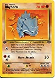 Pokemon Jungle 1st Edition Common Card #61/64 Rhyhorn