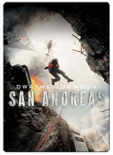 San Andreas Steelbook. / Exclusive Japanese Import. / Region Free.