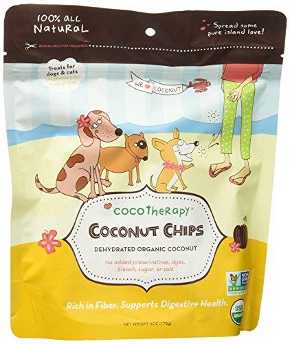 Cocotherapy(ココテラピー) オーガニックココナッツチップス(170g)ペットの健康をサポートする消化しやすいココナッツフレーク
