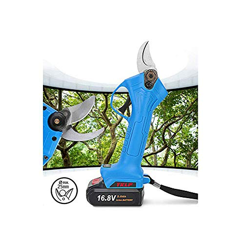 Great Deal! Professional Cordless Pruner Electric Pruning Shears Tree Pruner 2Pcs Backup Rechargeabl...