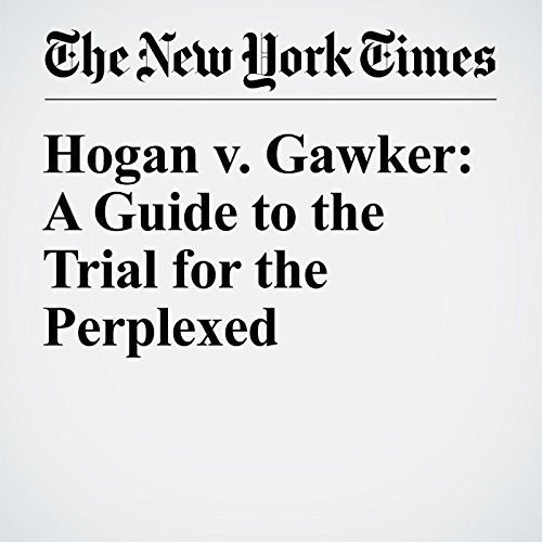 Hogan v. Gawker: A Guide to the Trial for the Perplexed cover art