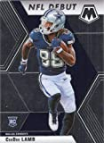 2020 Panini Mosaic #268 CeeDee Lamb RC Rookie Dallas Cowboys NFL Football Trading Card. rookie card picture