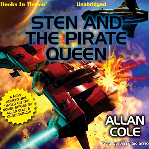 STEN and the Pirate Queen audiobook cover art