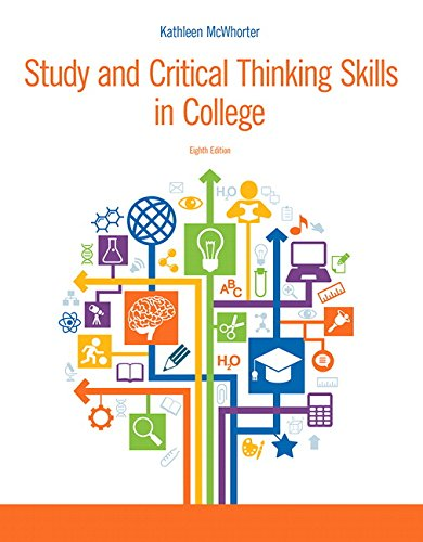Download Study and Critical Thinking Skills in College (8th Edition) 0321995708