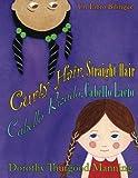 Curly Hair Straight Hair, Cabello Rizado Cabello Lacio