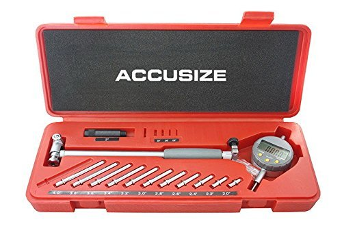 Accusize Industrial Tools 2-6 inch by 0.0005