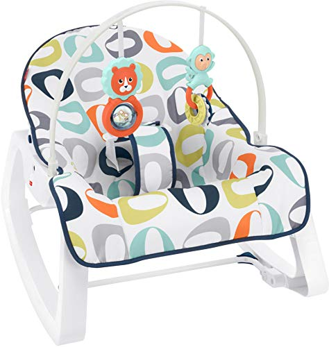 Fisher-Price Infant-to-Toddler Rocker, Kernal Pop