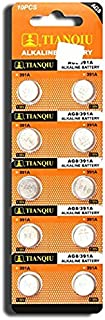 AG8 391A SR1120 LR1120 LR55 SR55 L112 Button Cell Batteries [10-Pack]