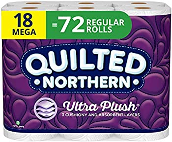 18-Count Quilted Northern Ultra Plush Toilet Paper (284 Sheets Per Roll)
