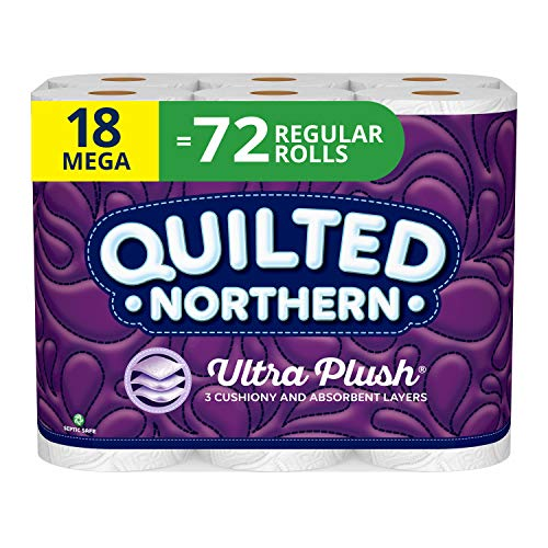Quilted Northern Ultra Plush Toilet Paper 18 Count – IN STOCK ON AMAZON!