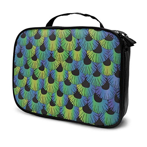 Feather J Image Makeup Bags Toiletry Pouch Travel Accessories Delaware