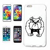 Reifen-Markt Hard Cover - Funda para teléfono móvil Compatible con Samsung Galaxy S3 Mini Deportes del Perro Bulldog Cachorro Raza Cachorro
