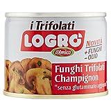 D'Amico - Logro, Funghi Champignons Trifolati, Lavorati dal Fresco, Piatto Pronto - 180 g...