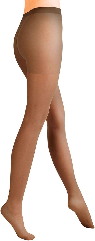 Aurellie Women Sheer Plain Pantyhose Classic Lycra 15 den (US sizes 4-16)
