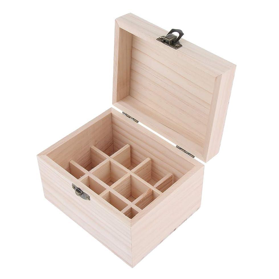 ドーム医学制限するD DOLITY 木製 エッセンシャルオイボックス 精油ケース 香水瓶 仕切板可動 12本用