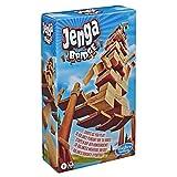 Hasbro Gaming Jenga Bridge Wooden Block Stacking Tumbling Tower Game for Kids Ages 8 & Up, 1 or More Players