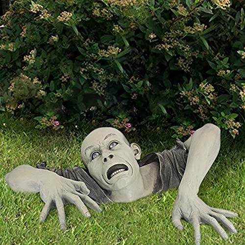 Halloween Decorations Halloween Crawling Zombie Decorations Garden Sculptures & Statues for Indoor...