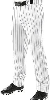 Champro BPPINU Pinstripe Triple Crown 13 OZ PRO Adjustable Inseam Open Bottom Youth Boys Baseball Pants