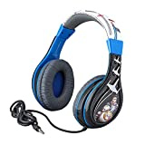 Star Wars Ep 9 Kids Headphones, Adjustable Headband, Stereo Sound, 3.5Mm Jack, Wired Headphones for Kids, Tangle-Free, Volume Control, Foldable, Childrens Headphones Over Ear for School Home Travel