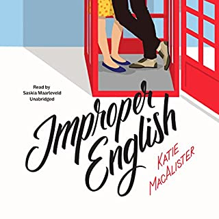 Improper English audiobook cover art