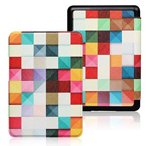 ZHAOXIANGXIANG Kindle Case,2019 Kindle Case para Funda Amazon Kindle 6 Pulgadas Kindle Cover 10A Generación Impermeable Flip E-Book Shell (Modelo: J9G29R), Magic Cube