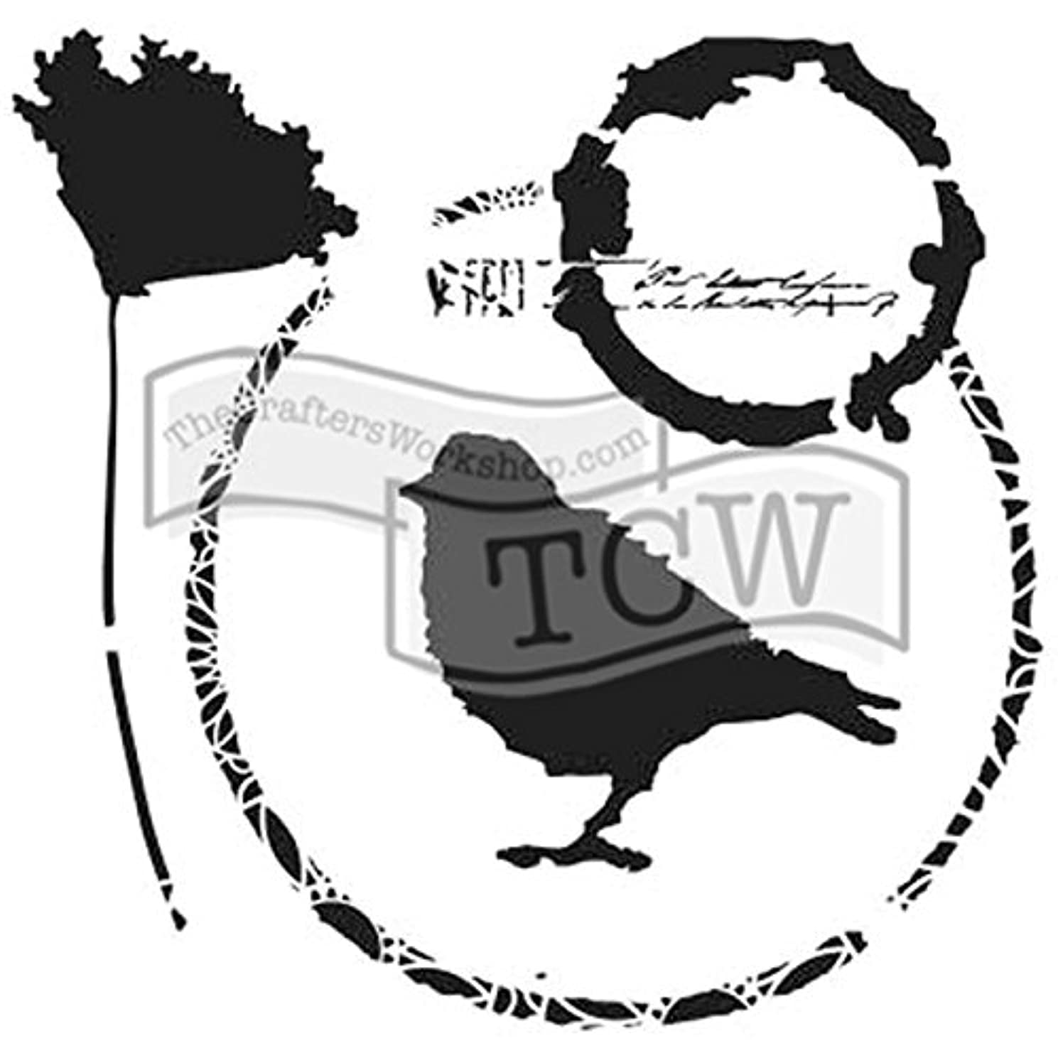 The Crafter's Workshop TCW766S Template 6