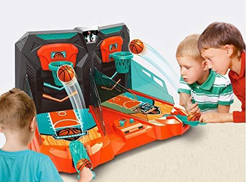 MWG Exports Co Handheld Tabletop 2-Player Basketball Shooting Goal Target Games for Boys & Girls Kids Birthday Presents