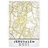 artboxONE Poster 90x60 cm Städte Jerusalem