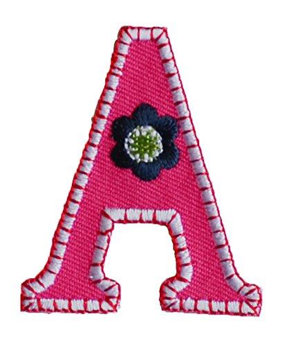 TrickyBoo Buchstabe A 9cm ABC aufbügelbar